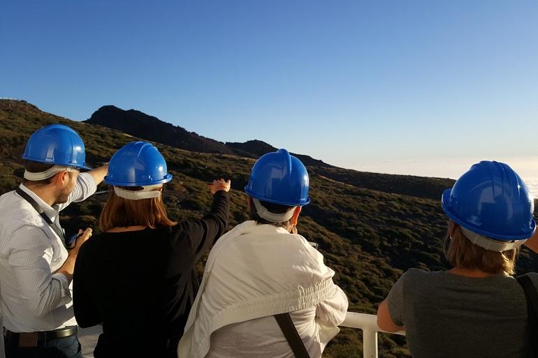 Intensa semana de trabajo del equipo del TMT en La Palma