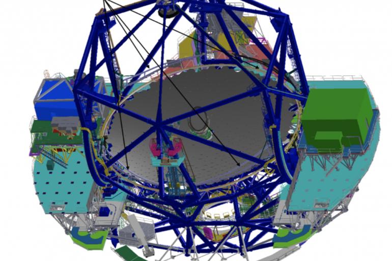 El sistema de limpieza óptica TMT alcanza un hito en su diseño