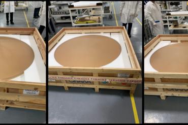 La producción del segmento de espejo primario ha comenzado en Coherent