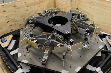TMT y Larson Packaging Company han diseñado y creado un prototipo de caja para transportar los segmentos de espejo de TMT
