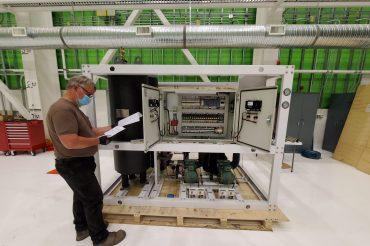 Refrigeración del Sistema de Óptica Adaptativa de TMT